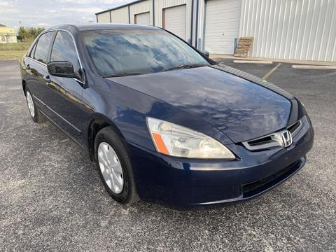 2003 Honda Accord for sale in Selma, TX