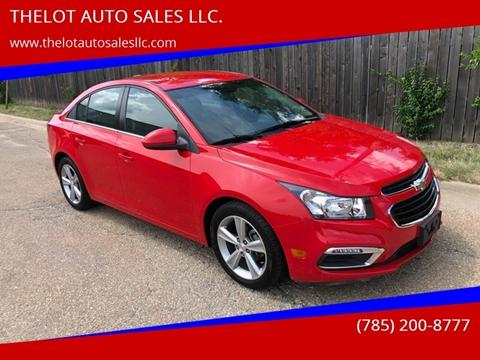 Used Cars Lawrence Ks >> 2015 Chevrolet Cruze For Sale In Lawrence Ks