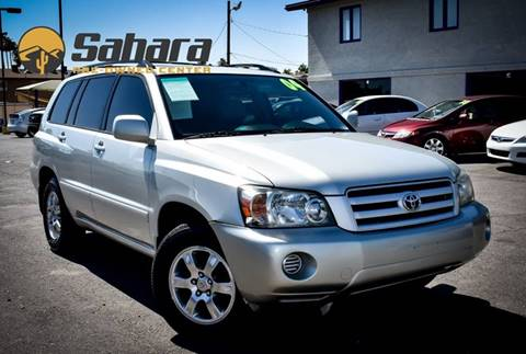 2004 Toyota Highlander for sale in Phoenix, AZ