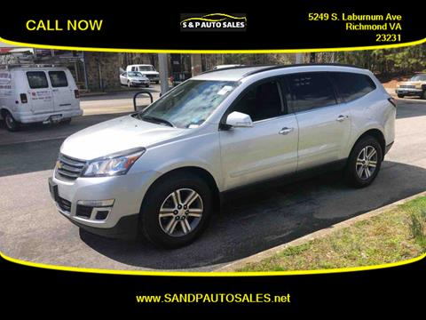 2016 Chevrolet Traverse for sale in Richmond, VA