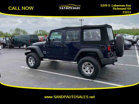 2013 Jeep Wrangler Unlimited for sale in Richmond, VA