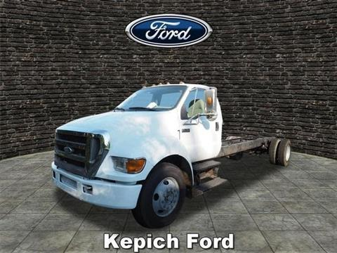 2007 Ford F-650 Super Duty for sale in Garrettsville, OH