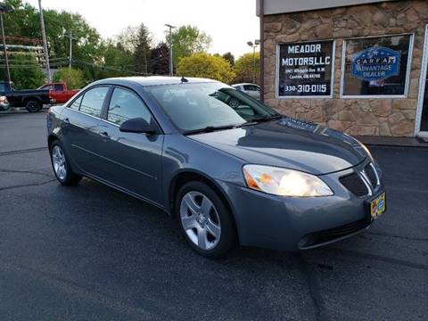 2008 Pontiac G6 for sale in Canton, OH