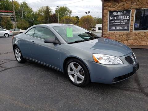 2007 Pontiac G6 for sale in Canton, OH