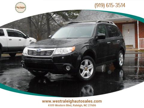2010 Subaru Forester for sale in Raleigh, NC