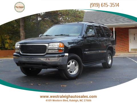 2003 GMC Yukon for sale in Raleigh, NC