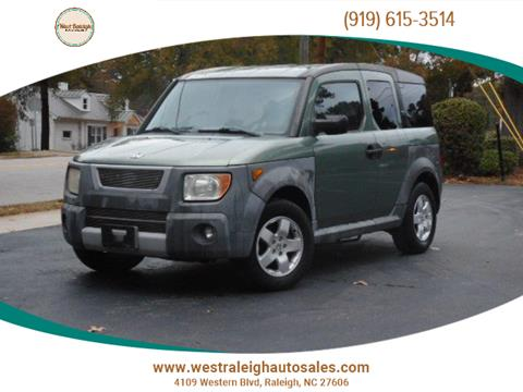 2005 Honda Element for sale in Raleigh, NC