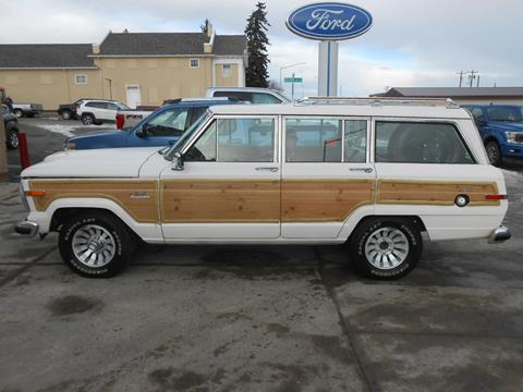 1986 Jeep Grand Wagoneer for sale in Cut Bank, MT