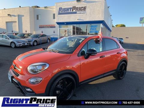 Fiat Las Vegas >> 2016 Fiat 500x For Sale In Las Vegas Nv