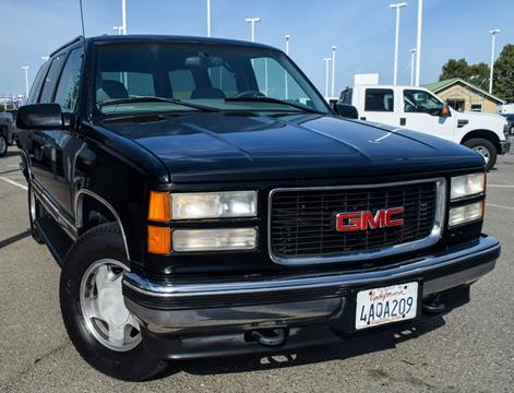 1998 GMC Yukon for sale in Stockton, CA