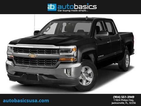 2017 Chevrolet Silverado 1500 for sale in Jacksonville, FL