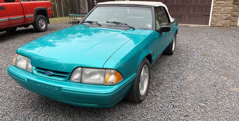 1992 Ford Mustang for sale at JM Auto Sales in Shenandoah PA