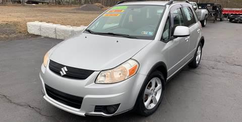 2007 Suzuki SX4 Crossover for sale at JM Auto Sales in Shenandoah PA