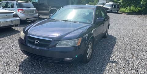 2006 Hyundai Sonata for sale at JM Auto Sales in Shenandoah PA