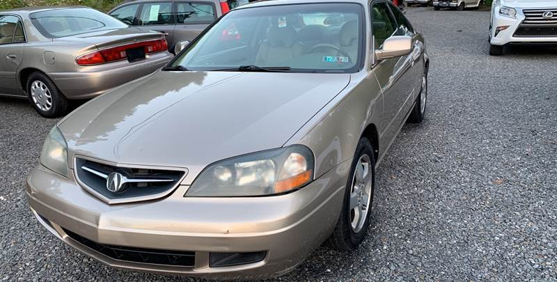 2003 Acura CL for sale at JM Auto Sales in Shenandoah PA
