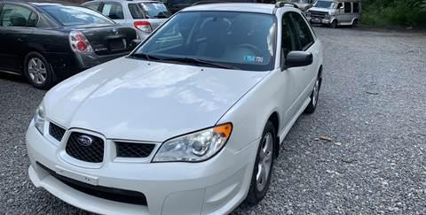2007 Subaru Impreza for sale at JM Auto Sales in Shenandoah PA