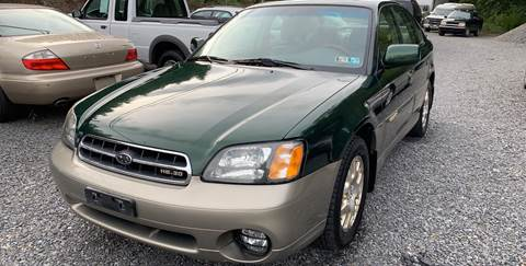 2002 Subaru Outback for sale at JM Auto Sales in Shenandoah PA
