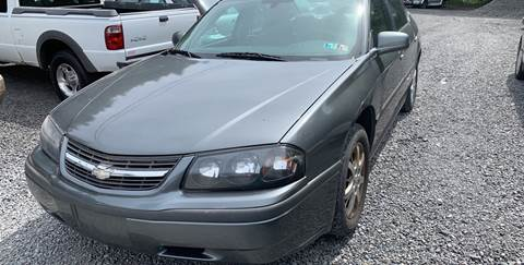 2005 Chevrolet Impala for sale at JM Auto Sales in Shenandoah PA