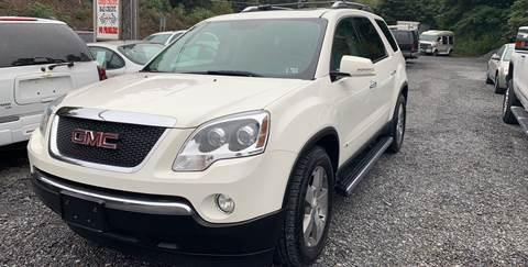 2009 GMC Acadia for sale at JM Auto Sales in Shenandoah PA