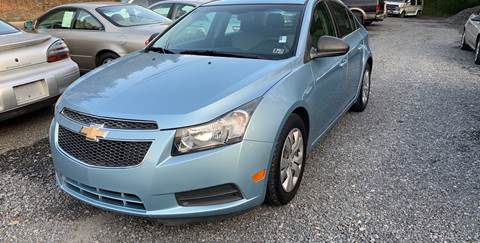 2012 Chevrolet Cruze for sale at JM Auto Sales in Shenandoah PA