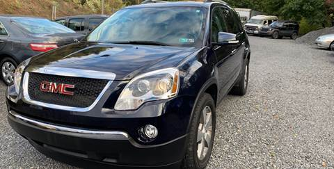 2012 GMC Acadia for sale at JM Auto Sales in Shenandoah PA