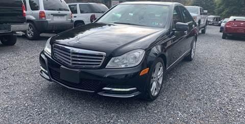 2013 Mercedes-Benz C-Class for sale at JM Auto Sales in Shenandoah PA