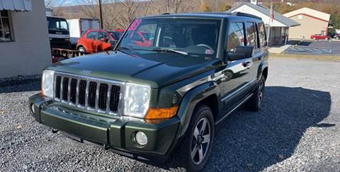 2008 Jeep Commander for sale at JM Auto Sales in Shenandoah PA