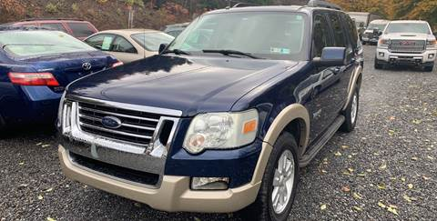 2008 Ford Explorer for sale at JM Auto Sales in Shenandoah PA
