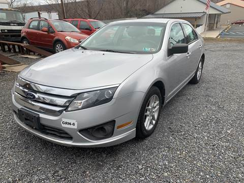 2012 Ford Fusion for sale at JM Auto Sales in Shenandoah PA