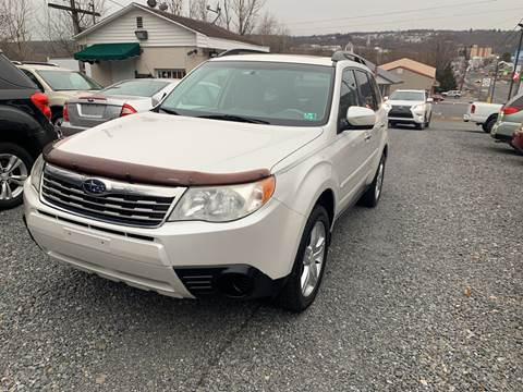 2010 Subaru Forester for sale at JM Auto Sales in Shenandoah PA
