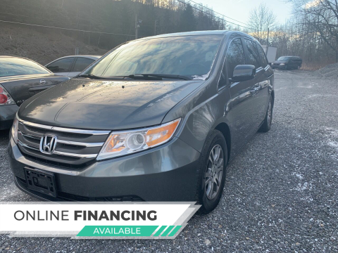 2011 Honda Odyssey for sale at JM Auto Sales in Shenandoah PA