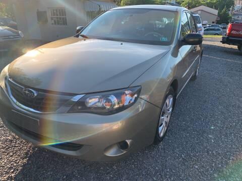 2008 Subaru Impreza for sale at JM Auto Sales in Shenandoah PA