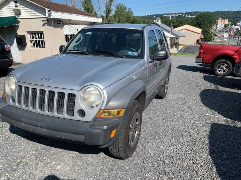 2007 Jeep Liberty for sale at JM Auto Sales in Shenandoah PA