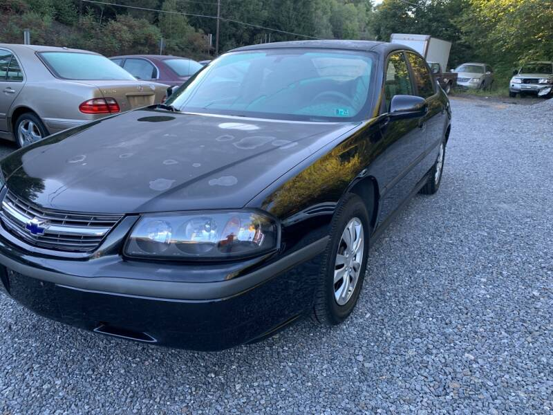 2004 Chevrolet Impala for sale at JM Auto Sales in Shenandoah PA