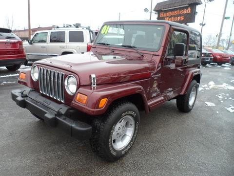 2001 Jeep Wrangler for sale in Highland, IN