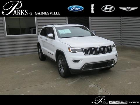 2017 Jeep Grand Cherokee for sale in Gainesville, FL