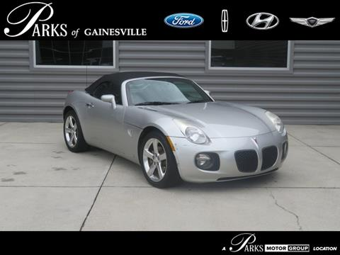 2007 Pontiac Solstice for sale in Gainesville, FL