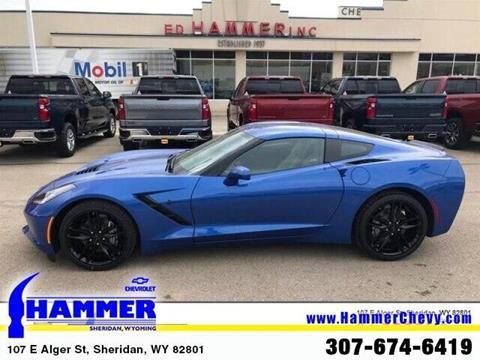 2019 Chevrolet Corvette for sale in Sheridan, WY