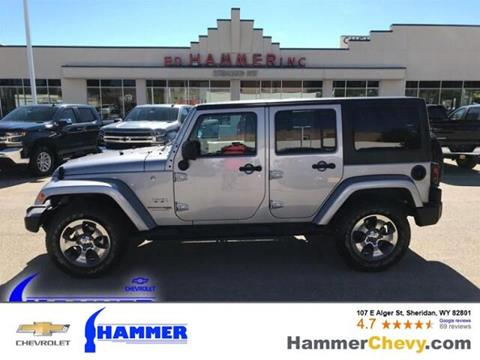 2018 Jeep Wrangler Unlimited for sale in Sheridan, WY