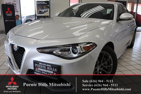 2017 Alfa Romeo Giulia for sale in City Of Industry, CA