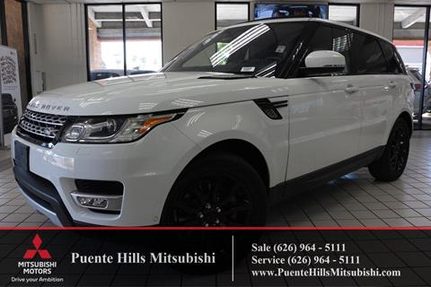 2016 Land Rover Range Rover Sport for sale in City Of Industry, CA