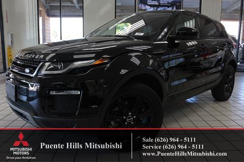 2016 Land Rover Range Rover Evoque for sale in City Of Industry, CA