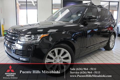 2016 Land Rover Range Rover for sale in City Of Industry, CA