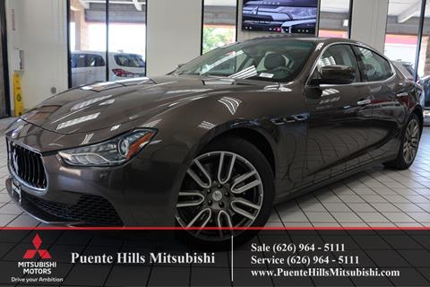 2016 Maserati Ghibli for sale in City Of Industry, CA