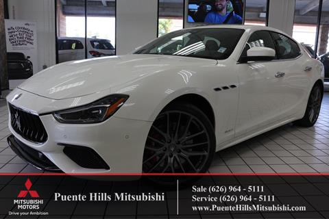 2018 Maserati Ghibli for sale in City Of Industry, CA