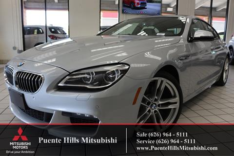 2016 BMW 6 Series for sale in City Of Industry, CA