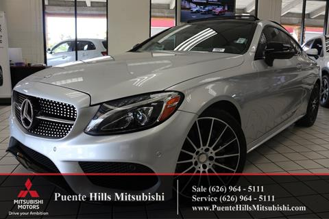 2017 Mercedes-Benz C-Class for sale in City Of Industry, CA
