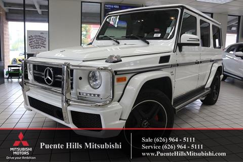 2016 Mercedes-Benz G-Class for sale in City Of Industry, CA