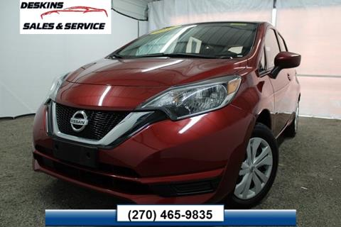 2017 Nissan Versa Note for sale in Campbellsville, KY