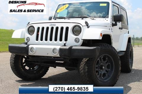 2015 Jeep Wrangler for sale in Campbellsville, KY